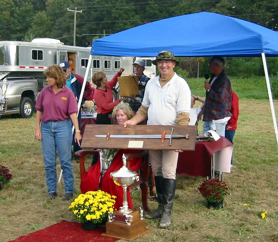 Mike Virts, 2003 National Professional Jousting Champion